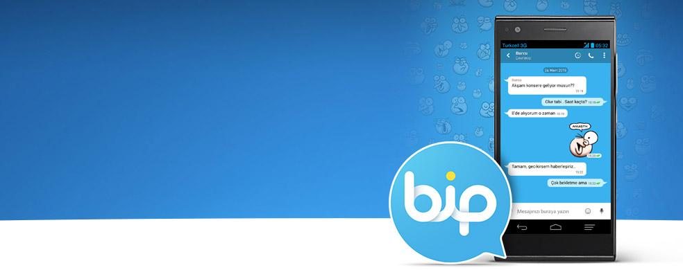 BiP, İnternet Paketinizden Yemez Anında mesajlaşmanın yeni adresi BiP, internet paketinizden yemeden mesajlaşmaya hemen başlayın.