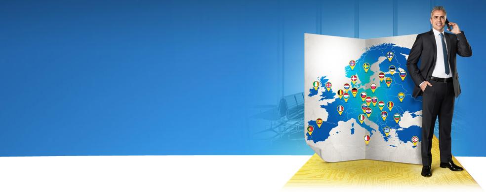 Tum Avrupa'da Avantaj Turkcell'de! Avrupa'nin her yerinde avantaj kapsaminda kalin, fatura surprizi yasamayin.
