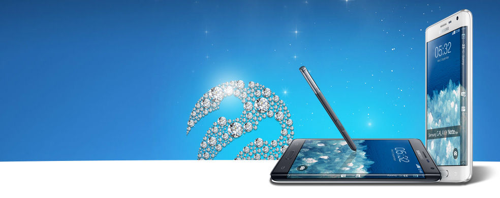 Samsung Galaxy Note Edge. Turkcell Platinum ayricaliklariyla!