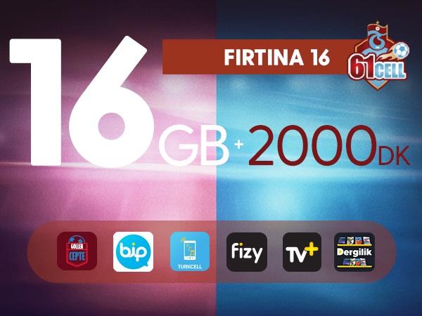 Fırtına 16 GB Platinum