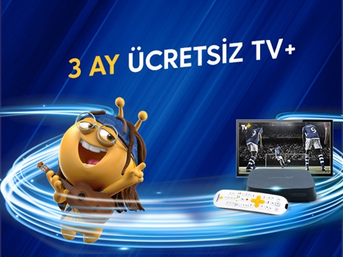 3 Ay Ücretsiz TV+ Kampanyası