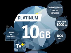 5'i 1 Yerde Platinum 10 GB Kampanyası