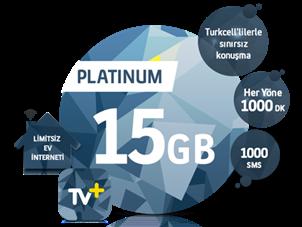 5'i 1 Yerde Platinum 15 GB Kampanyası