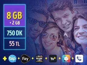 GNÇ 8GB