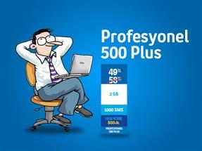 Profesyonel 500 Plus Kampanyası