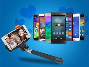 Sevgililer Günü'ne Özel Akıllı Telefonlara Selfie Çubuğu Hediye!