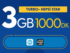 Turbo+ Hepsi Star Kampanyası