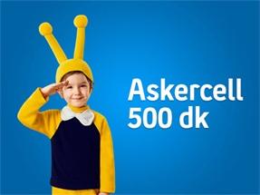 Askercell 500 dk