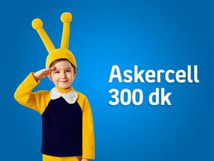 Askercell 300 dk