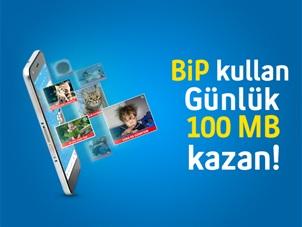 BiP Hediye 100 MB Kampanyası
