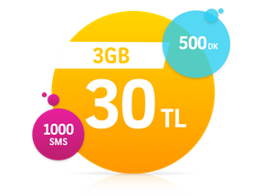 Faturalı 3GB Plus Yıllık Abonelik Kampanyası