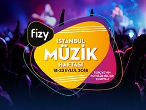 fizy İstanbul Müzik Haftası Kampanyası