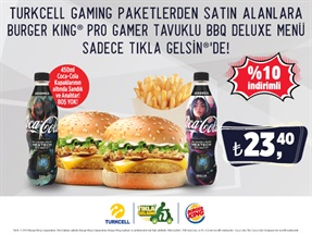 Gaming Burger King Kampanyası