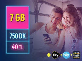 GNÇ Full 7GB Kampanyası