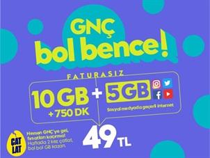 GNÇ Hoş Geldin 15 GB