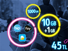 GNÇ Full 10 GB Kampanyası-Yeni Müşteri