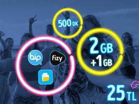 GNÇ Full 2 GB Kampanyası - Yeni Müşteri