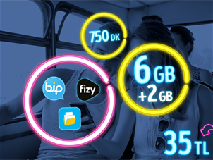 GNÇ Full 6 GB Kampanyası - Yeni Müşteri