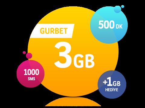 Gurbet 3 GB