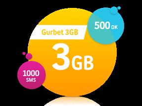 Gurbet 3 GB Paketi