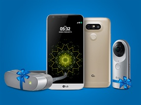 LG G5, LG 360 Kamera ve LG 360 VR Hediyesi ile Turkcell'de