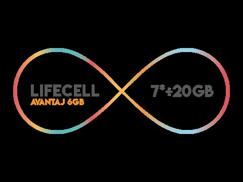 Lifecell Avantaj 6GB