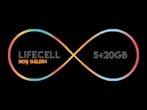 Lifecell Hoş Geldin 5GB