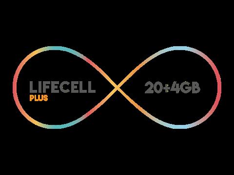 Lifecell Plus 4 GB Paketi