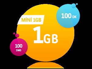 Mini 1 GB Paketi