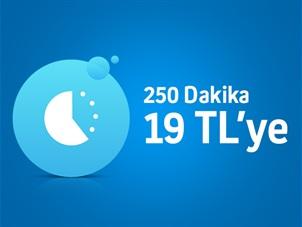 Minik Paket 250 Dakika Kampanyası