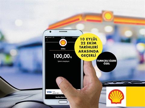 Visa ile Shell'de 15 TL Değerinde Yakıt Hediye