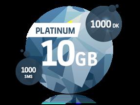Platinum 10 GB Yıllık Abonelik Kampanyası