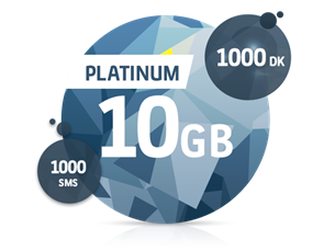 Satın Al Platinum 10 GB Yıllık Abonelik Kampanyası