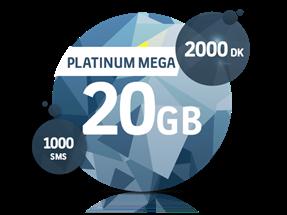 Platinum Mega 20 GB Yıllık Abonelik Kampanyası