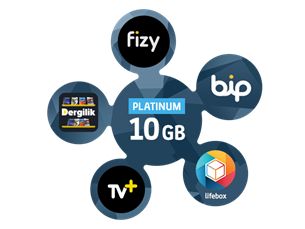 Satın Al Platinum Mega 10 GB Paket