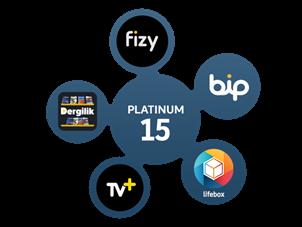 Platinum 15 Paketi Yıllık Abonelik Kampanyası