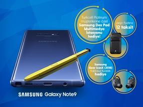 Samsung Galaxy Note9 Kampanyası