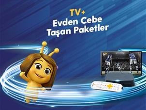 TV+ Evden Cebe Taşan Paketler Kampanyası