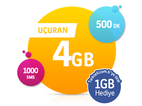Uçuran 4 GB Paketi-Yeni Müşteri