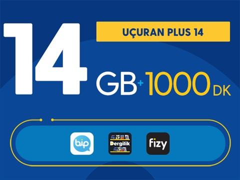 Uçuran 14 GB Plus Paketi