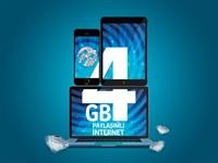 Platin Paket'in 4GB İnterneti Tüm Cihazlarınıza Yeter