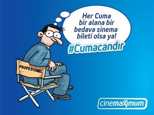 Cinemaximum'larda Cuma Candır!