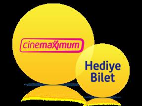 Cinemaximum'da 2 Adet Sinema Bileti