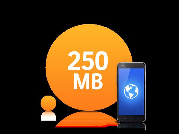 250 MB Tanışma Paketi