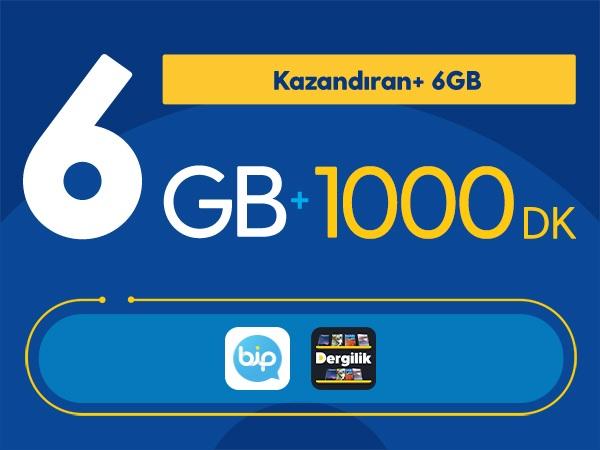 Kazandıran+ 6GB