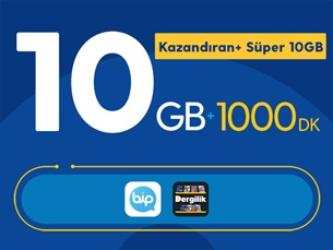 Satın Al Kazandıran+ Süper 10GB