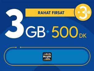 Satın Al Rahat Fırsat 3GB Paketi
