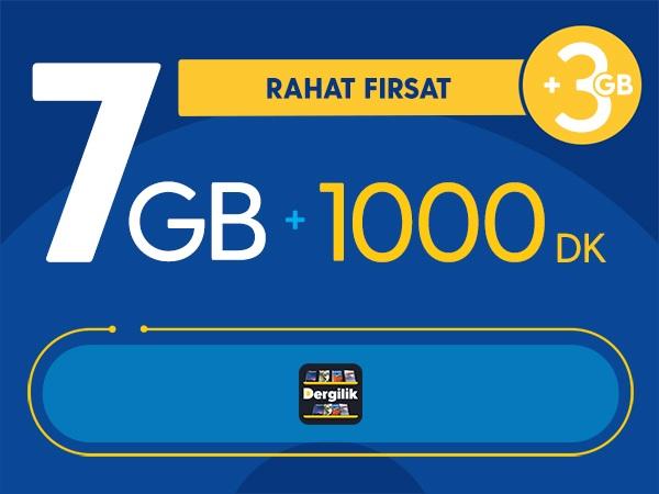 Rahat Fırsat 7GB Paketi