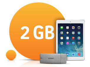Satın Al Paylaşımlı İnternet Paketleri 2 GB