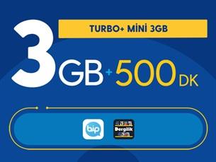 Satın Al Turbo+ Mini 3GB